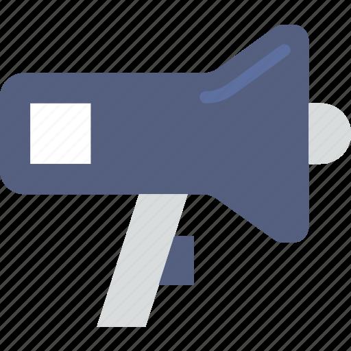communication, media, megaphone, news icon