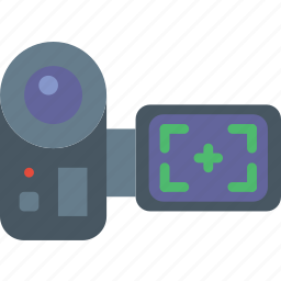 camera, communication, media, news, recording icon