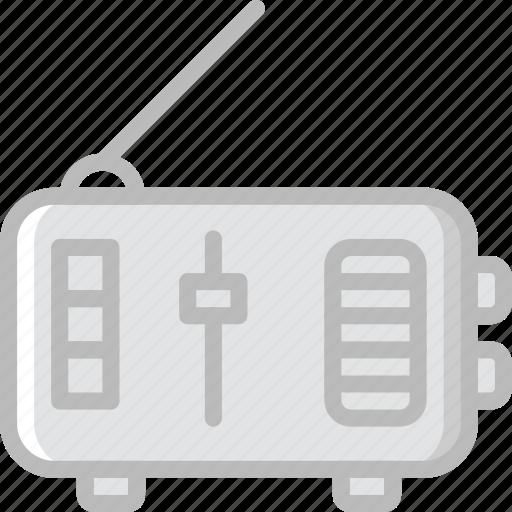 communication, media, news, radio icon