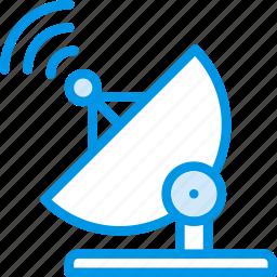 communication, dish, media, news, radio icon