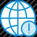 communication, media, news, warning, web icon