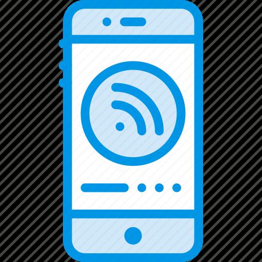communication, media, news, phone, signal icon