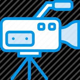 camera, communication, media, news, set icon
