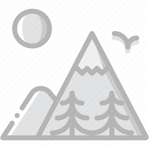 craft, mountainside, outdoor, wild icon