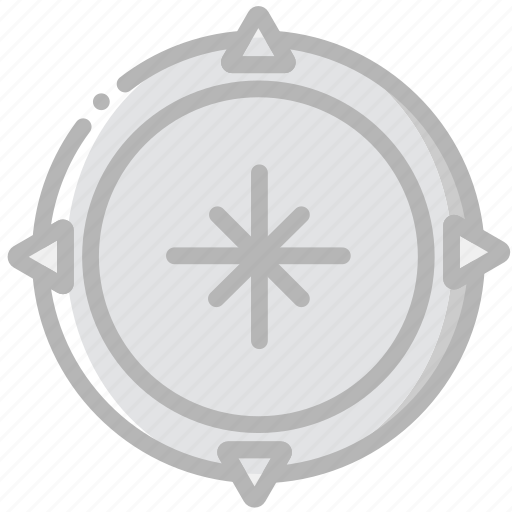 compass, craft, outdoor, wild icon