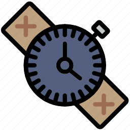 forest, outdoors, survival, watch, wild icon