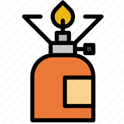 cooker, forest, gas, outdoors, wild icon