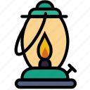 forest, gas, lamp, outdoors, wild icon