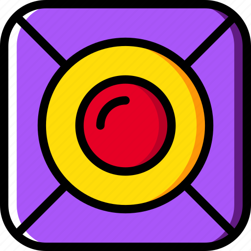 Camera, lens, photography, record, video icon - Download on Iconfinder