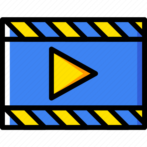 movie, photography, record, video icon