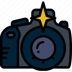 camera, flash, photography, record, video icon