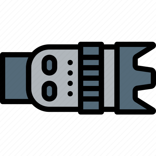 camera, objective, photography, record, video icon