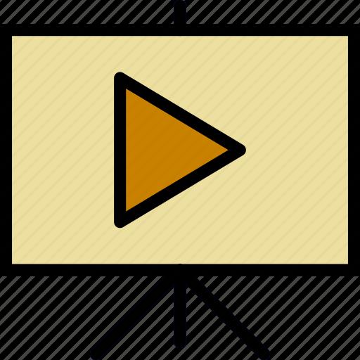 photography, presentation, record, video icon