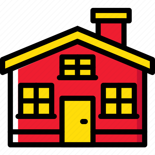 estate, home, house, property, real icon