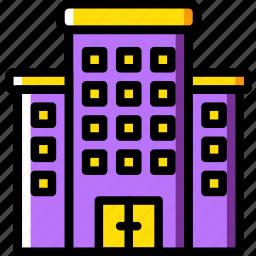 building, condo, estate, home, house, property, real icon