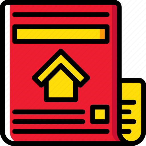 estate, home, house, newspaper, property, real icon
