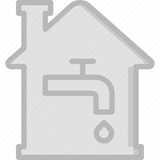 estate, home, house, property, real, utilities icon