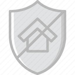 estate, home, house, property, real, unprotected icon