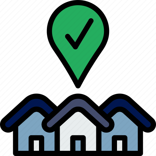 Real, success, estate, house, sale, home, property icon