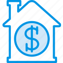 buy, estate, home, house, property, real icon