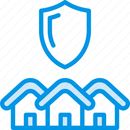 estate, home, house, property, protected, real, sale icon