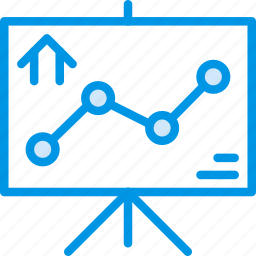 graph, home, house, property, real icon