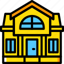 estate, home, house, mansion, property, real icon