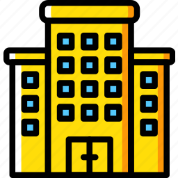 building, condo, estate, home, house, property, real icon
