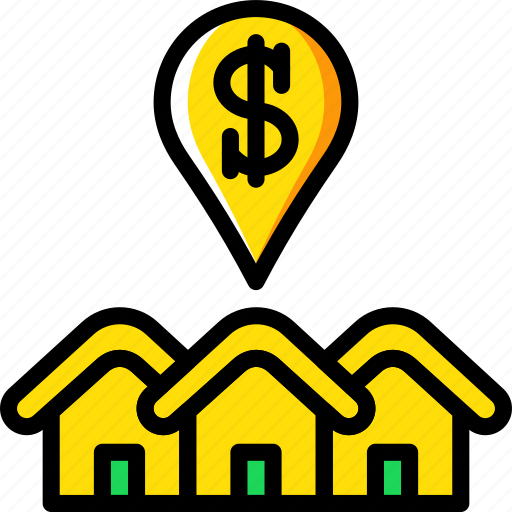 estate, home, house, property, real, sale icon