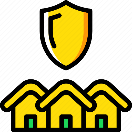 Real, estate, house, sale, protected, home, property icon