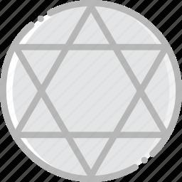 faith, judaism, pray, religion icon