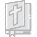bible, faith, pray, religion icon