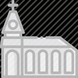faith, monastery, pray, religion icon