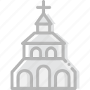 church, faith, pray, religion icon