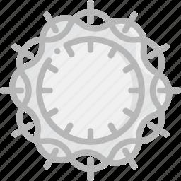 crown, faith, of, pray, religion, thorns icon