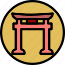 faith, pray, religion, shintoism icon