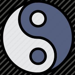 faith, pray, religion, taoism icon