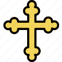 cross, faith, orthodox, pray, religion icon
