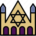 church, faith, judaic, pray, religion icon