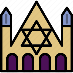 church, faith, judaic, pray, religion icon