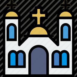 catolic, faith, monastery, pray, religion icon