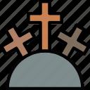 faith, holy, mountain, pray, religion icon