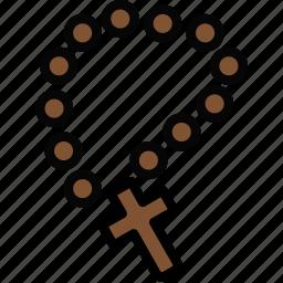 faith, pray, religion, rosary icon