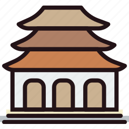 buddhist, faith, pray, religion, temple icon