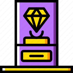 goods, museum, protection, secure, security icon