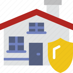 house, insurance, protection, secure, security icon