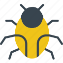 bug, protection, secure, security icon