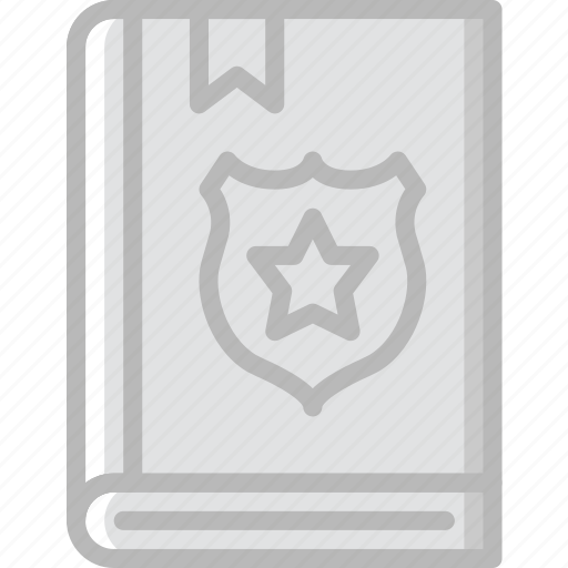 book, law, protection, secure, security icon