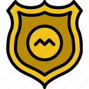 badge, protection, secure, security icon