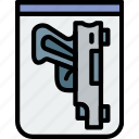crime, proof, protection, secure, security icon